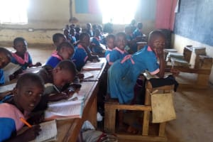 The Water Project: Naliava Primary School -  Students Studying