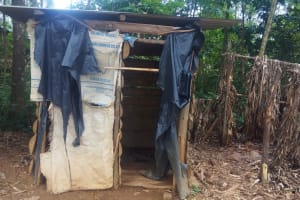 The Water Project: Shihimba Primary School -  Latrines At The School