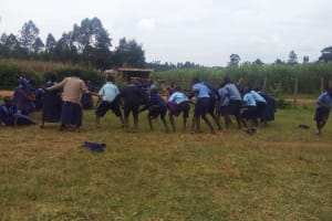 The Water Project: Shihimba Primary School -  Students Play At The School Grounds