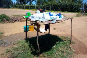 The Water Project: Emukangu Primary School, Shibuli -  A Dishrack At The Schools Kitchen