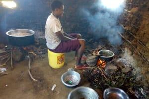 The Water Project: Emukangu Primary School, Shibuli -  Inside The Schools Kitchen