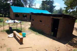 The Water Project: Emukangu Primary School, Shibuli -  Kitchen Building