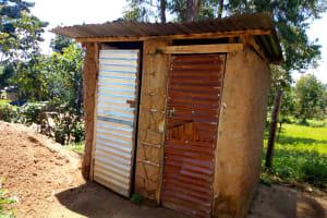 The Water Project: Emukangu Primary School, Shibuli -  Latrines At This School