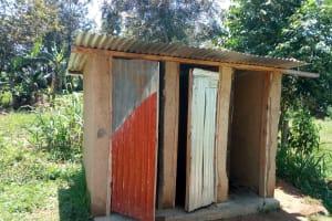 The Water Project: Emukangu Primary School, Shibuli -  Latrines