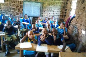 The Water Project: Emukangu Primary School, Shibuli -  Students In Class
