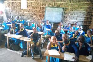 The Water Project: Emukangu Primary School, Shibuli -  Students Love School
