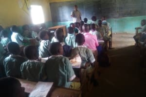 The Water Project: Eshisenye Primary School -  Students In Class