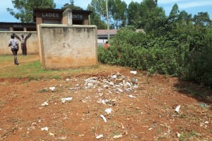 The Water Project: Shitaho Community School -  Collected Waste