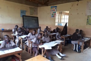 The Water Project: Shitaho Community School -  Students Studying