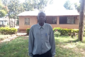 The Water Project: Matsigulu Primary School -  Senior Teacher At The School