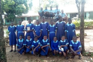 The Water Project: Matsigulu Primary School -  Students Pose For A Picture