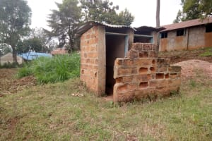 The Water Project: Imbale Primary School -  Broken Latrines