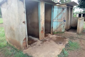 The Water Project: Imbale Primary School -  School Latrines