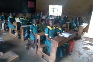 The Water Project: Imbale Primary School -  Students In Class