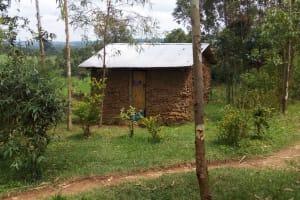 The Water Project: Matsakha Community, Siseche Spring -  Latrine