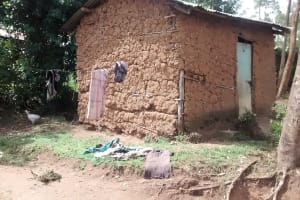 The Water Project: Luvambo Community, Timona Spring -  Clothes Line And Clothes Drying On The Ground