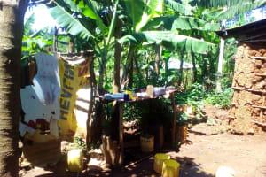 The Water Project: Musutsu Community, Mwashi Spring -  Dish Rack