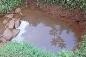The Water Project: Musutsu Community, Mwashi Spring -  Spring
