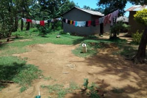 The Water Project: Chegulo Community, Yeni Spring -  Clothes Hanging To Dry