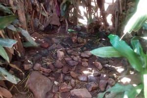 The Water Project: Ewamakhumbi Community, Yanga Spring -  Bathroom Floor