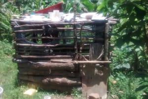 The Water Project: Ewamakhumbi Community, Yanga Spring -  Sample Dishrack