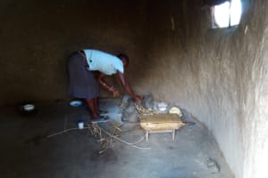 The Water Project: Chegulo Community, Werabunuka Spring -  Cooking