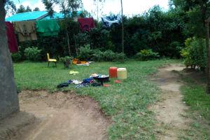 The Water Project: Chegulo Community, Werabunuka Spring -  Homestead