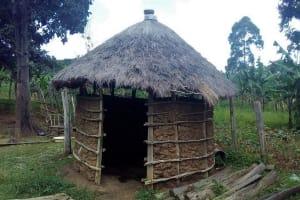 The Water Project: Lunyi Community, Fedha Mukhwana Spring -  Kitchen
