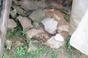 The Water Project: Shirugu Community, Shapaya Mavonga Spring -  Floor State Of Bathrooms