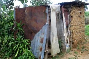 The Water Project: Shirugu Community, Shapaya Mavonga Spring -  Sample Latrine