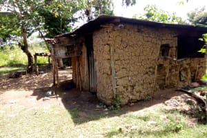 The Water Project: Ematetie Community, Chibusia Spring -  A Sample Kitchen In The Community