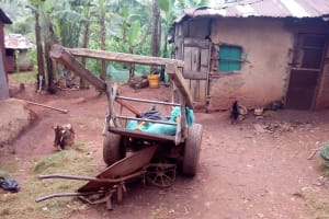 The Water Project: Asimuli Community, John Omusembi Spring -  Homestead