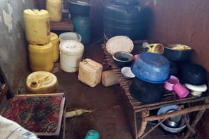 The Water Project: Asimuli Community, John Omusembi Spring -  Inside A Community Memers Kitchen