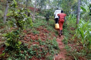 The Water Project: Asimuli Community, John Omusembi Spring -  The Route Tfrom The Spring