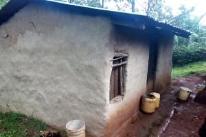 The Water Project: Koitabut Community, Henry Kichwen Spring -  Sample Houses In This Community