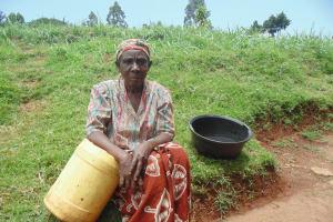 The Water Project: Chepnonochi Community, Chepnonochi Spring -  Jescah Isadia A Water User