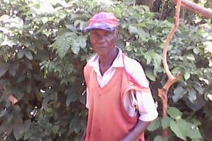The Water Project: Upper Visiru Community, Wambosani Spring -  Mzee