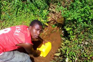 The Water Project: Upper Visiru Community, Wambosani Spring -  Water Source