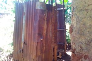 The Water Project: Upper Visiru Community, Wambosani Spring -  Bathroom