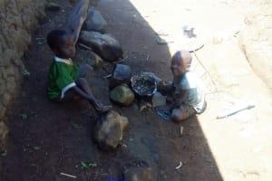 The Water Project: Emasera Community, Visenda Spring -  Children Playing