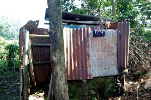 The Water Project: Irumbi Community, Shatsala Spring -  Bathroom