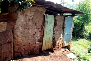 The Water Project: Irumbi Community, Shatsala Spring -  Latrines