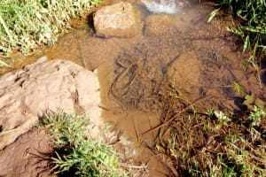 The Water Project: Irumbi Community, Shatsala Spring -  Shatsala Water Source