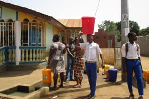 The Water Project: Rotifunk Baptist Primary School -  Alternate Water Source