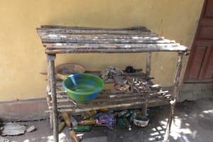 The Water Project: Rotifunk Baptist Primary School -  Dish Rack