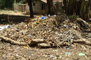 The Water Project: Rotifunk Baptist Primary School -  Rubbish Pit