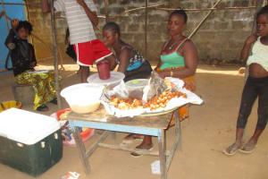 The Water Project: Rotifunk Baptist Primary School -  School Canteen