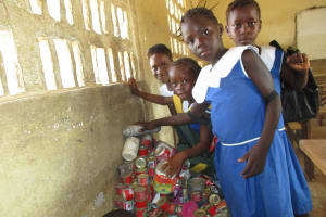The Water Project: Rotifunk Baptist Primary School -  Student In The Class Room