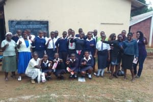 The Water Project: Malimili Secondary School -  Training Participants