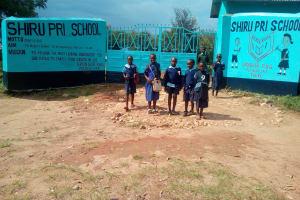 The Water Project: Shiru Primary School -  School Entrance